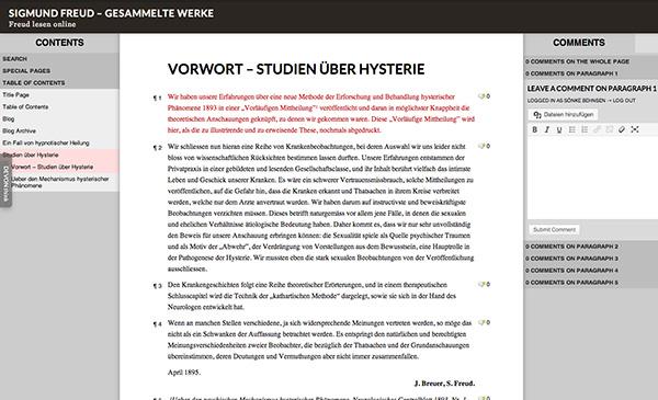 Freuds Werk online lesen