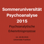 Sommeruniversität Psychoanalyse